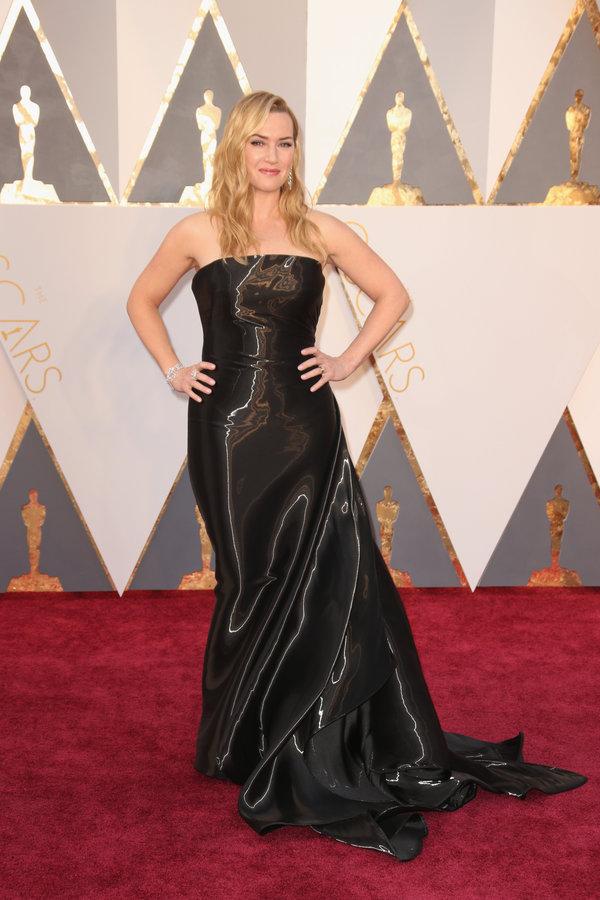 peinados Kate Winslet en los premios Oscar's 2016