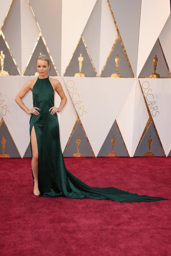 peinados Rachel McAdams en los premios Oscar's 2016