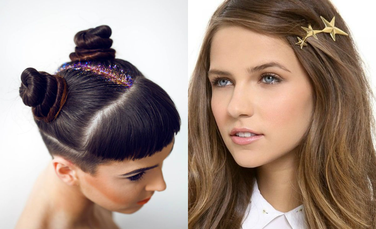 christmas hairstyles & hair accessories to meet 2017 | hairstyles